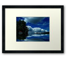 """""""Touch of Red"""" Framed Print"""