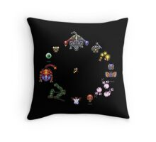 Link to the Past Bosses Throw Pillow
