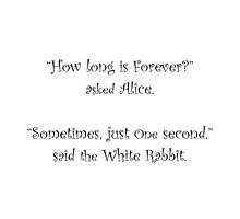 How Long Is Forever? by Amantine