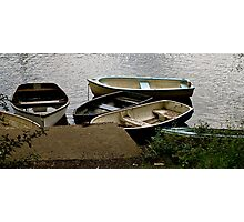 A Gathering of Row Boats - Loch Lomond Photographic Print