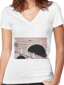 Ain't no stairway high enough  Women's Fitted V-Neck T-Shirt