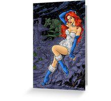 MOTU Sorceress of the Castle Grayskull Greeting Card
