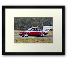 RS2000 Escort Framed Print
