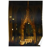 Inside St Patrick's Cathedral Poster