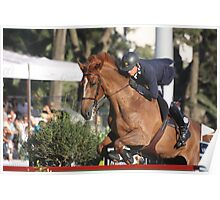Horse rider 8210 Poster