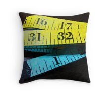 We Need A Measured Approach Throw Pillow