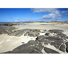 Sanna Bay on the Atdnamurchan Penninsula. Photographic Print