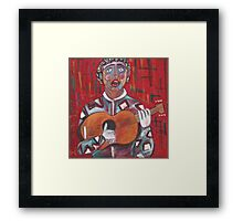 il cantore Framed Print