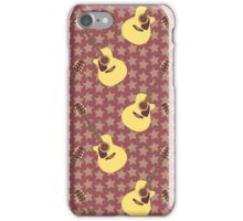 Stars and guitars iPhone Case/Skin