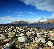 Ardgour Hills and Loch Linnhe. by John Cameron