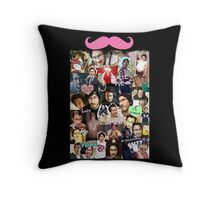 Markiplier Tumblr Collage Throw Pillow