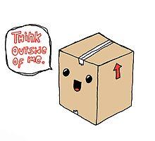 think outside by Daisy Watson
