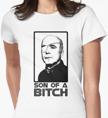Colonel Saul Tigh Womens Fitted T-Shirt