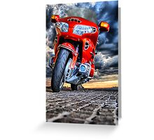 Honda GL 1800 Gold Wing Greeting Card