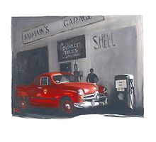 The Old Balmain Garage by RosaFedele