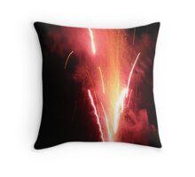 Fountain of Fire Throw Pillow