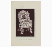 Floral Designs Series I a hand book for cut flower workers and florists John Horace McFarland 1888 0055 Arm Chair with Monogram One Piece - Short Sleeve
