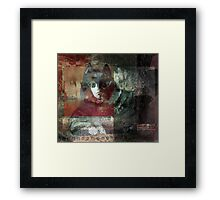 Woodland Sphinx IV Framed Print