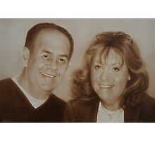 Kathy and Frank Photographic Print