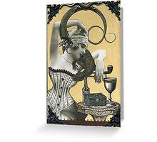 Lydia & her Lizard Greeting Card