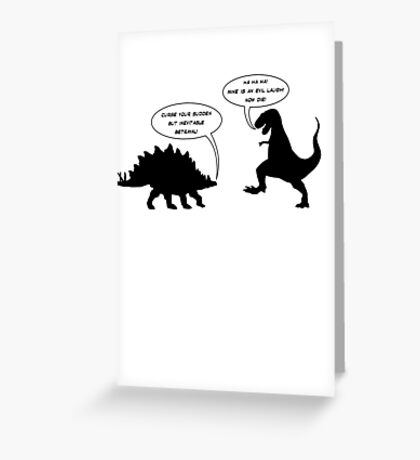 Inevitable Betrayal (Firefly/Serenity) Greeting Card