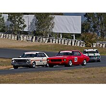 Aussie Muscle Cars Photographic Print