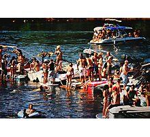 American River Wild Life Photographic Print