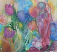 Fresh Tulips by Claudia Smaletz