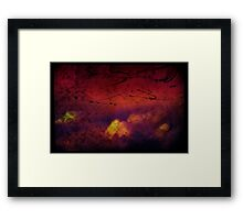 silent gloom Framed Print