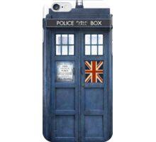 Police Box Union Jack iPhone Case/Skin