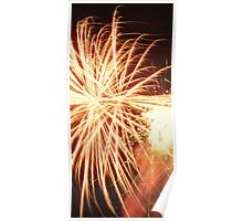Fire works. Poster