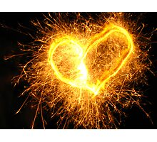 You make my heart sparkle Photographic Print