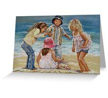 Beach Dancing Greeting Card