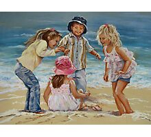 Beach Dancing Photographic Print