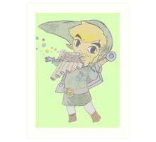 Toon Link Art Print