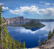 Crater Lake - Wizard Island by CarrieAnn