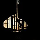 Train Cars Silhouette  by Crystal Zacharias