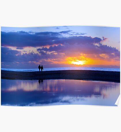 Sunset Lover Poster