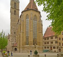 Rothenburg ob der Tauber 25 by Priscilla Turner