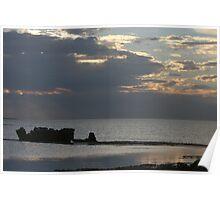 Pilbara sunset, WA Poster