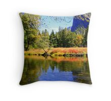 """Valley Reflections"" Throw Pillow"