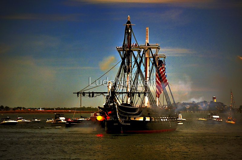 Independence Day Celebration with USS Constitution  by LudaNayvelt