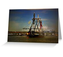 Independence Day Celebration with USS Constitution  Greeting Card