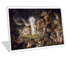 The Quarrel of Titania and Oberon Laptop Skin