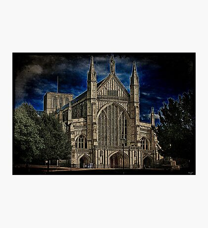 Winchester Cathedral Photographic Print