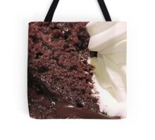 In Deep (With Chocolate) Tote Bag