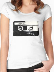 1980s Women's Fitted Scoop T-Shirt