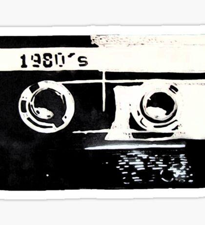 1980s Sticker