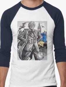 The Third Doctor Men's Baseball ¾ T-Shirt