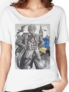 The Third Doctor Women's Relaxed Fit T-Shirt